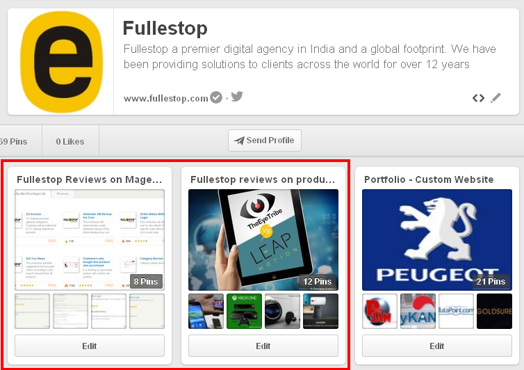 Fullestop on Pinterest