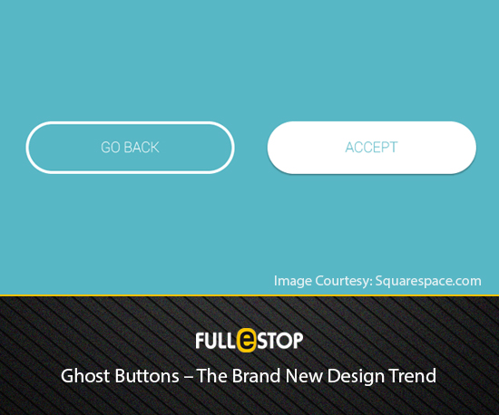 Ghost Button - Web Designing