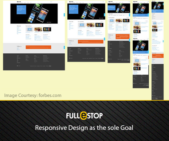 Gole of Responsive Design