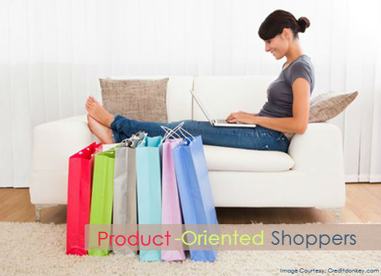 1.	Product-Oriented Shoppers