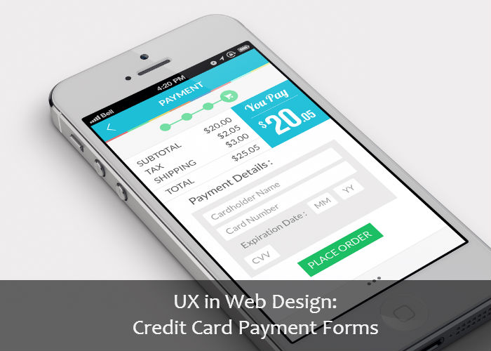 ux payment forms