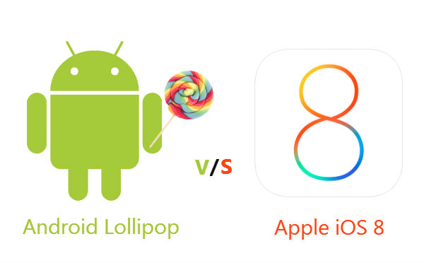 android or ios8