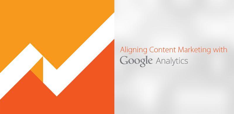 Aligning content marketing with Google analytics
