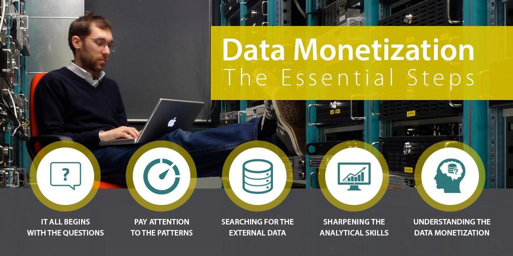 Data Monetization The Essential Steps