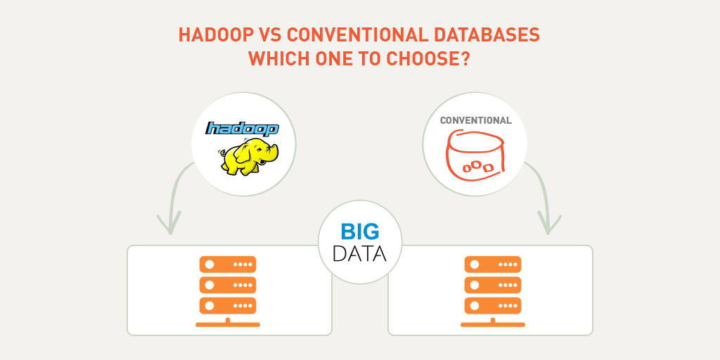 Hadoop Vs Conventional Databases – Which One to Choose