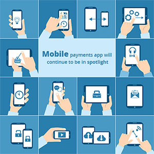 Mobile payments app will continue to be in spotlight