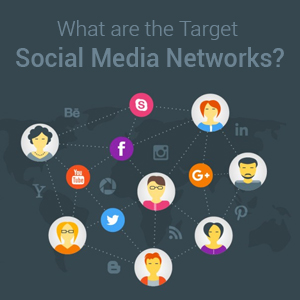 What are the Target Social Media Networks